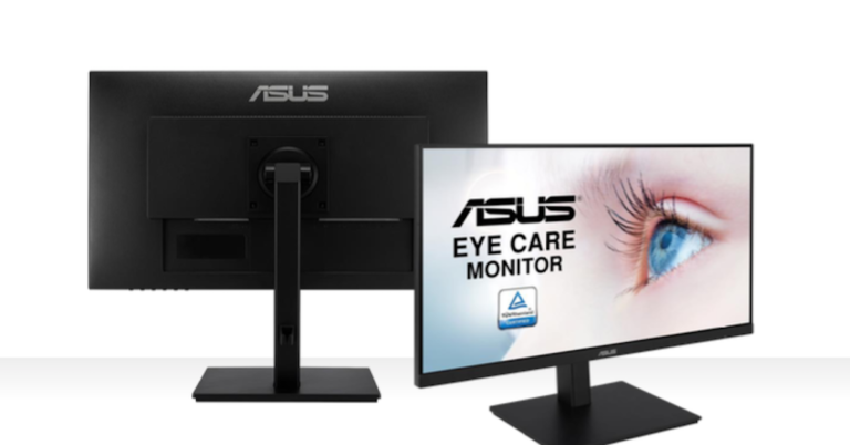 ASUS VA24DQSB – 178° Ultra-wide View with Eye Care Monitor