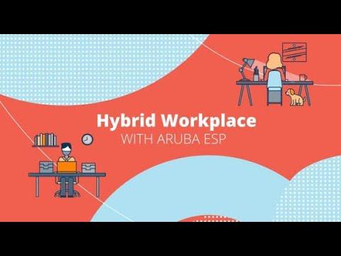 The Hybrid Workplace Powered by Aruba ESP